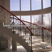 Element din fier forjat balustrada 21