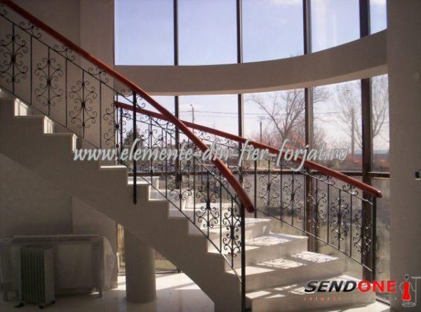 Element din fier forjat balustrada 21.503