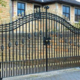 Elemente din fier forjat pentru garduri si porti